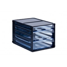 Metro A4 3 Drawers Multi Drawer Storage System 3663