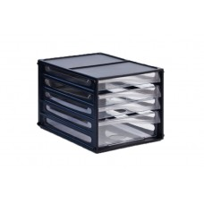 Metro A4 4 Drawers Multi Drawer Storage System 3664 (3 Small Drawers + 1 Big Drawer)