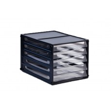 Metro A4 5 Drawers Multi Drawer Storage System 3665