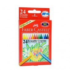 Faber-Castell 24 Colors Erasable Crayons