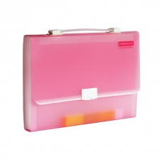 Deli Expanding File 5564 (Pink)