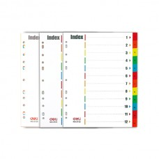 Deli Index/Divider 5722 A4 (1 pack)