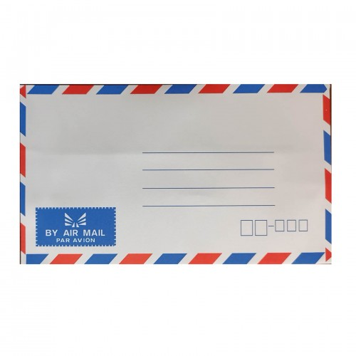 "Air Mail Envelope (4"" x 6"") (25pcs)"