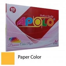 Apolo A4 Premium Color Paper (500 Sheets) (Cyber HP Orange)