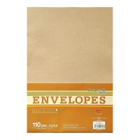 "Campap 12813 Brown Envelope (7"" x 10"") (10pcs)"