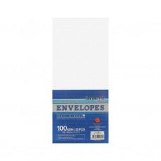 """Campap 12823 White Envelope (4"""" x 9"""") (20pcs)"""