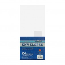 """Campap 12826 White Envelope with Window (4.5"""" x 9.75"""") (20pcs)"""