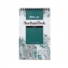 Campap CW2201 (127mm x 204mm) Shorthand Book (50 Sheets)