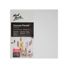 Mont Marte Canvas Panels (20.4cm x 20.4cm) 2pcs