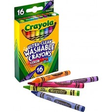 Crayola 16 Colors Ultra-Clean Washable Crayons