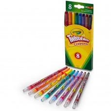 Crayola 8 Colors Twistables Crayons