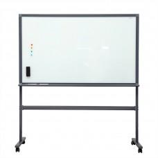 Deli 90cm x 150cm 7888 Whiteboard (Includes 1 W/B Marker + W/B Eraser + 4 Magnets + Stand)