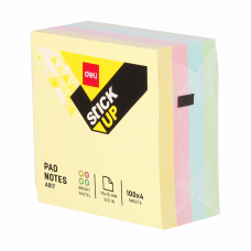Deli A017 (76mm x 76mm) Sticky Note Pad