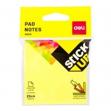 Deli A020 (76mm x 76mm) Sticky Note Pad (4 Colors)