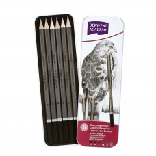 Derwent Academy 6pcs Sketching Pencils