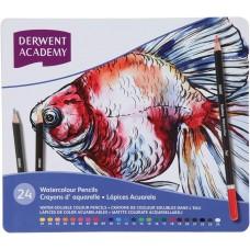 Derwent 24 Colors Watercolor Pencils