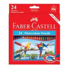 Faber-Castell 24 Colors Watercolor Pencils