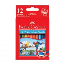 Faber-Castell 12 Color Watercolor Pencils
