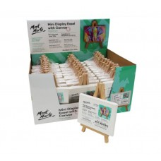 Mini Display Easel with Canvas (8cm x 10cm)