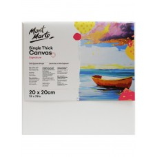 Mont Marte Single Thick Canvas (20cm x 20cm)